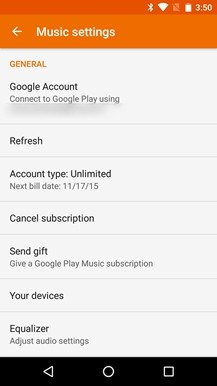 google play music unlimited apk