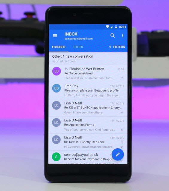Outlook for Android comes with revamped design in the latest update