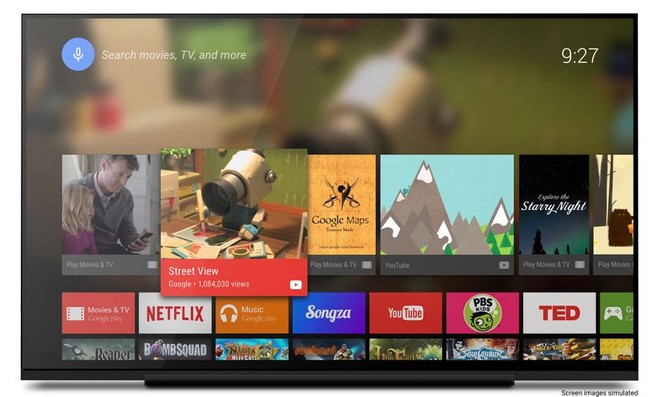 Play Store for Android TV app update brings back