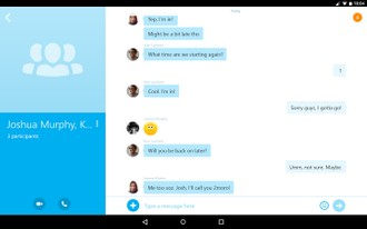 Now video chat with 24 people with Skype's iOS and Android