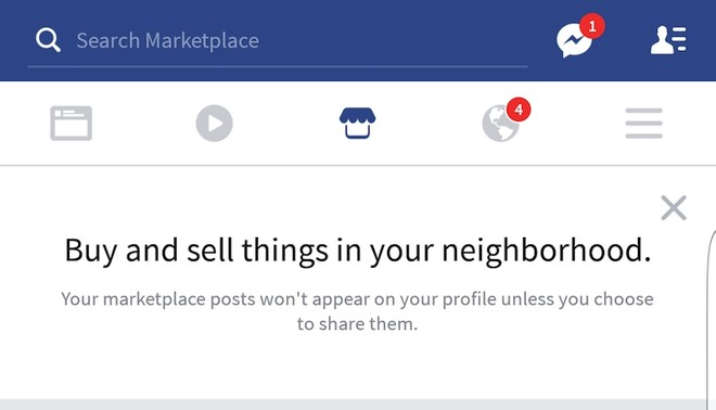 Facebook marketplace spotted In the Android app - Mobilescout com