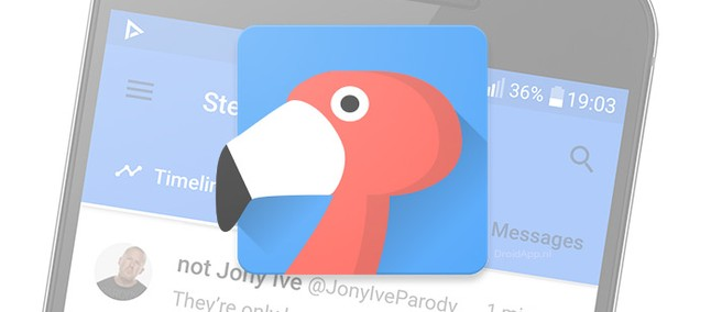 Flamingo is an Android Twitter client app with lots of customization