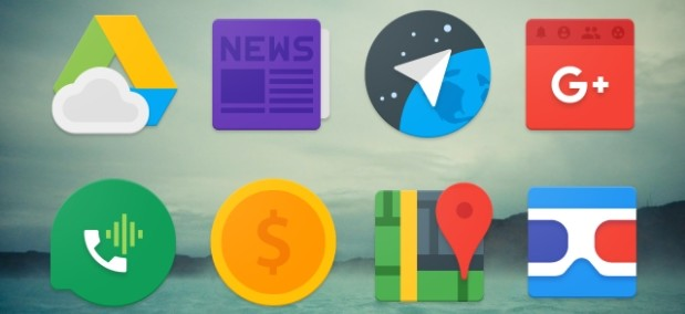 Pineapple Icon Pack: Material Design inspired icons for Android