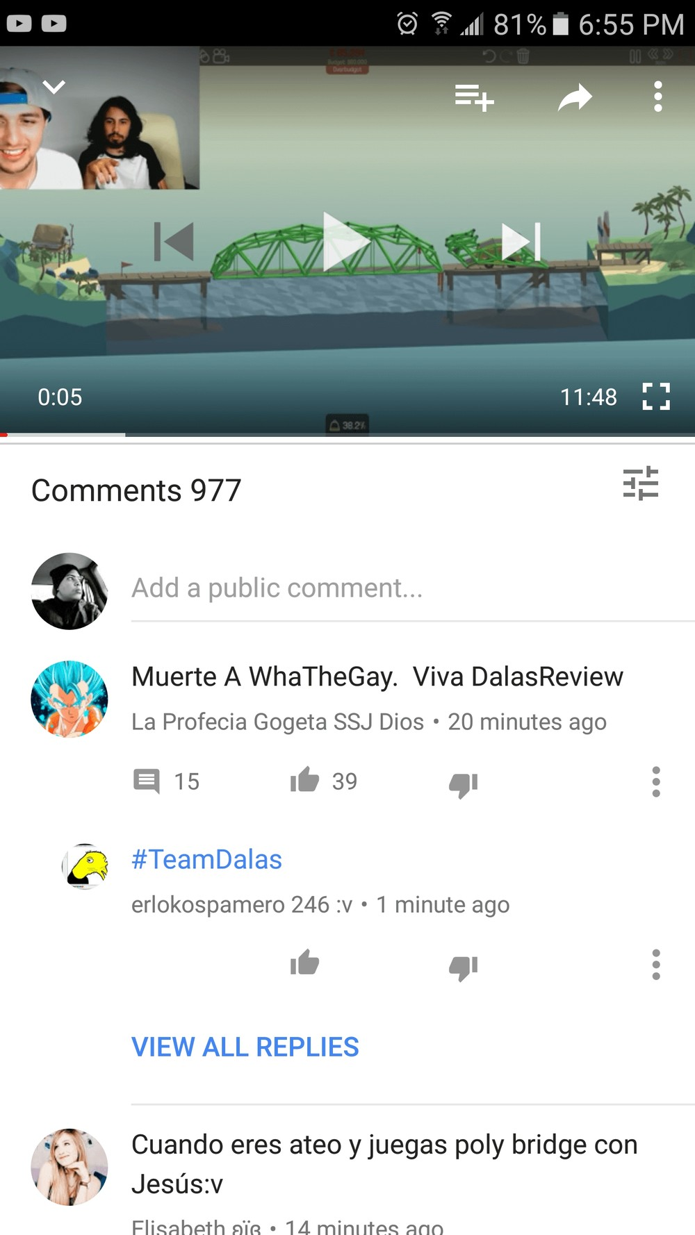 YouTube Android App comments UI could get an update soon