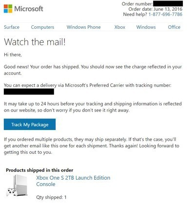 microsoft starts shipping 2tb xbox one s pre orders mobilescout com