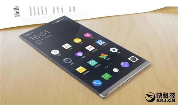 LeEco concept phone shows off 4K panel without any button
