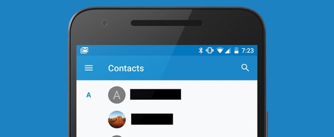 Google Contacts for Android updated to v1 5, brings new