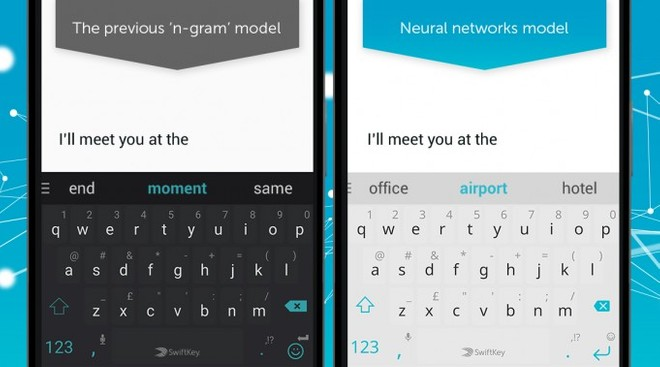SwiftKey for Android is now neural network powered for