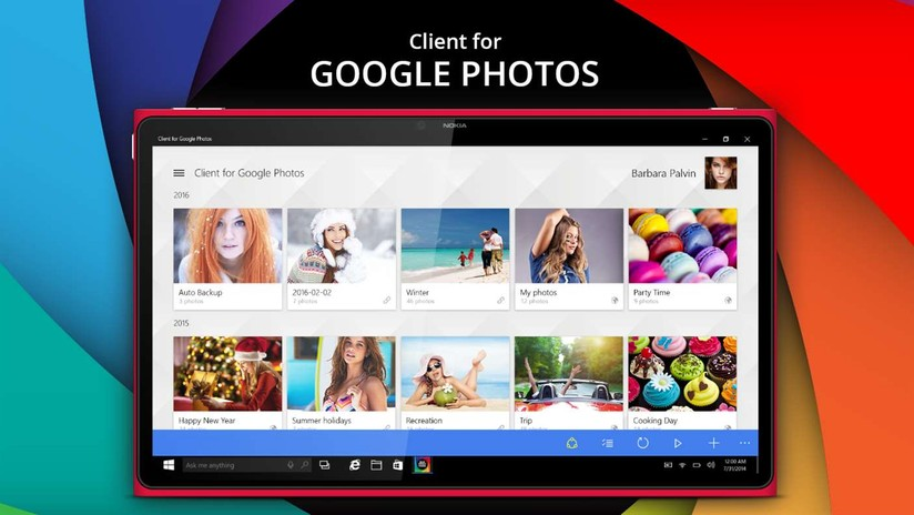 Windows 10 devices get third-party Google Photos app at