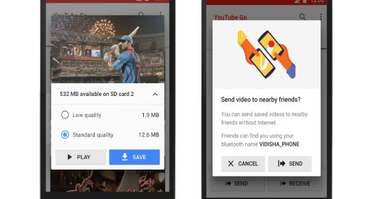YouTube Go offline-centric app now available for download