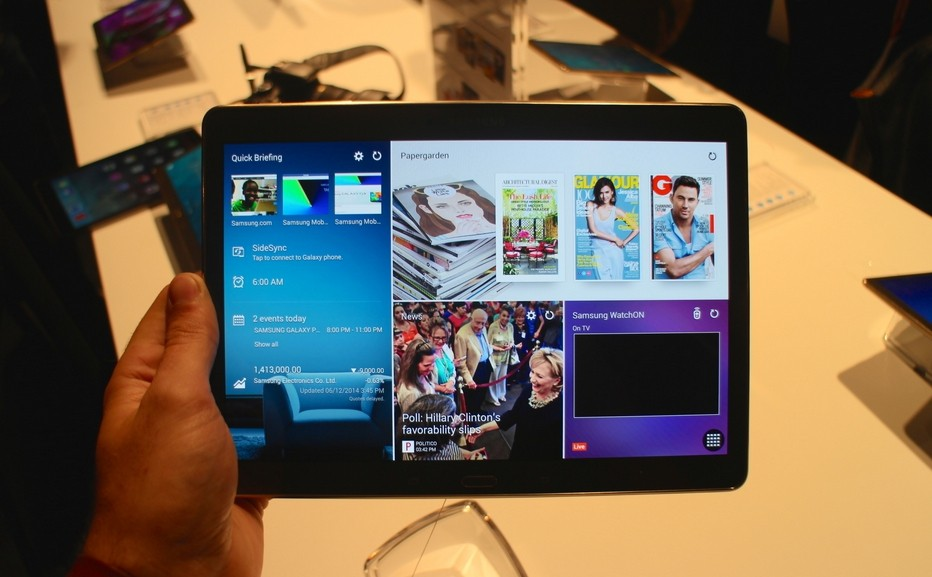 Android 6 0 1 finally lands to Galaxy Tab S 10 5 - Fans