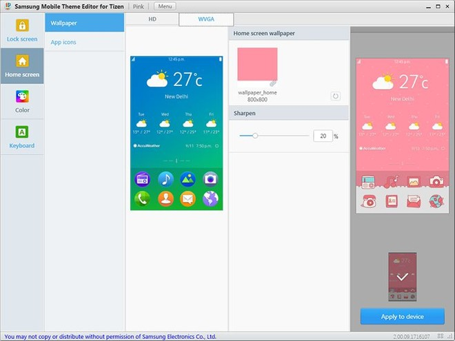 Create custom themes for Tizen using Tizen Theme Editor