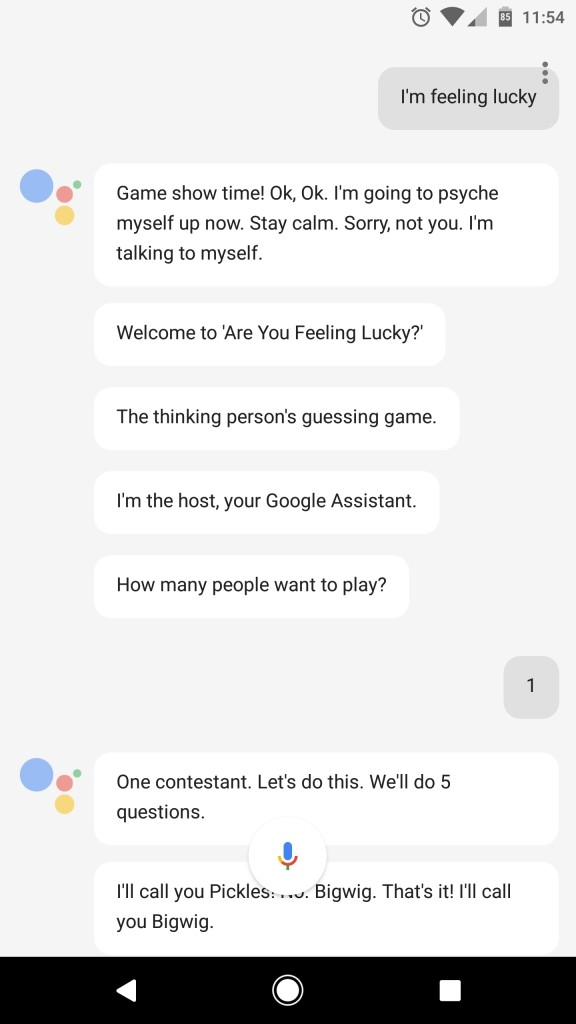 Tell Pixel's Google Assistant