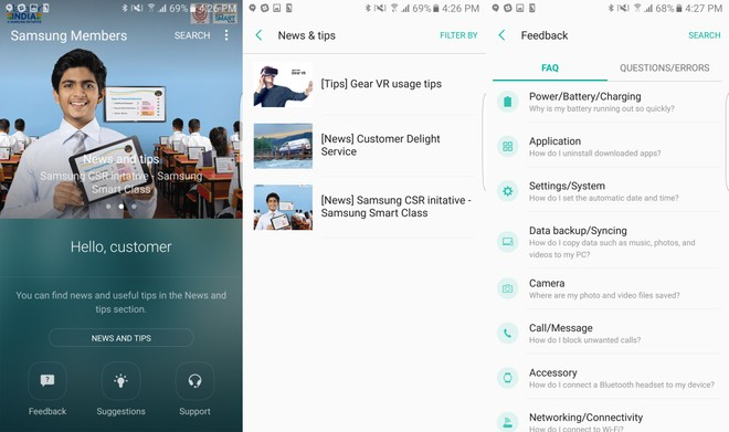 Samsung Members app now available for download in India