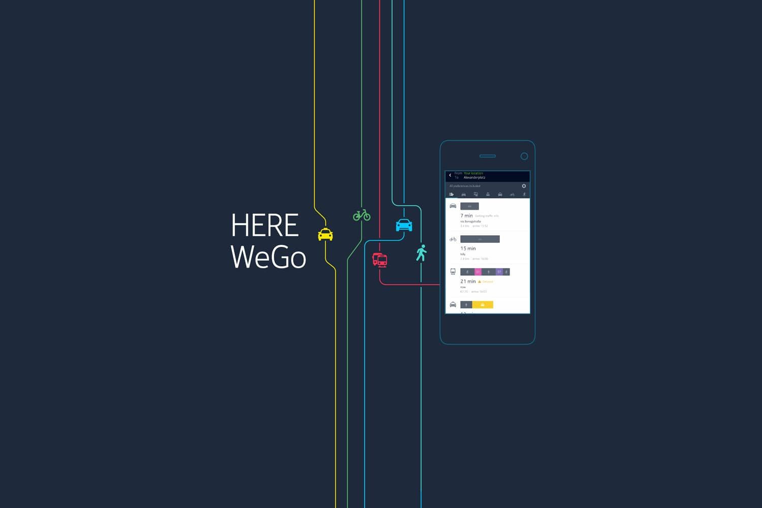 Here WeGo updated new navigation app for Gear S3 is live now