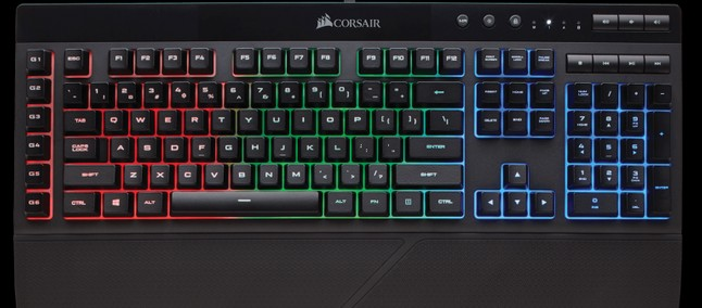 751b2f0b71c Corsair K55 RGB Gaming Keyboard with 6 tunable macro keys launched in India