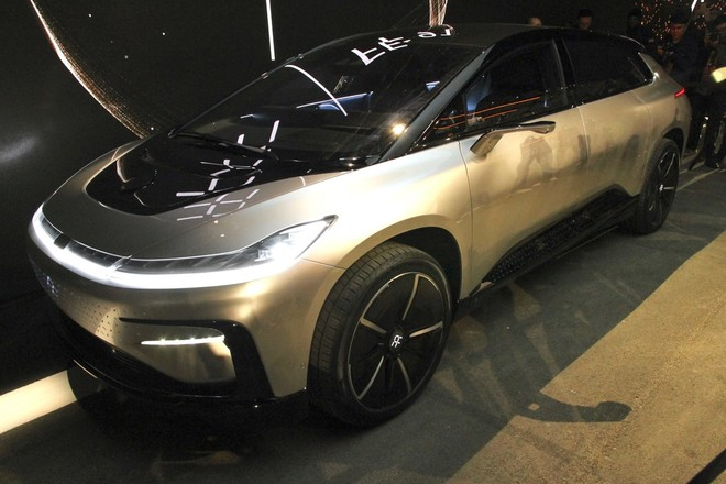 Faraday Future Unveils Fastest Electric Car Ff91 At Ces 2017