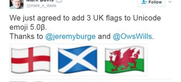 Scottish Flag Emoji