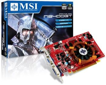 MSI GeForce 9400GT -Specs,Price of Graphics Card in India