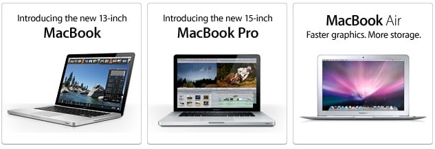 New Apple MacBook, MacBook Pro, MacBook Air Laptops - Price