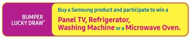 d367adf00d5 Applicable on the purchase of any of the Samsung Consumer Durable products