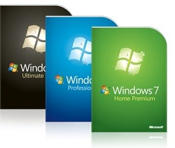 Windows 7 price in India