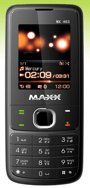 maxx mobile 463 themes download