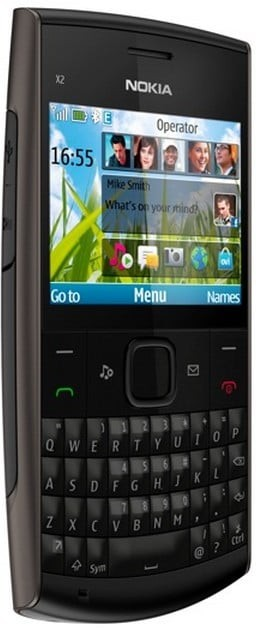 Nokia X2-01 - Affordable price QWERTY mobile phone