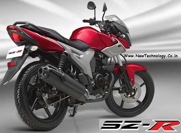 Yamaha SZ-R - New 153cc stylish commuter bike