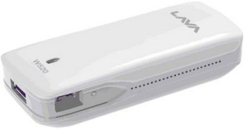 Lava W520 Price - Wi-Fi Hotspot Router with 3G EVDO Support