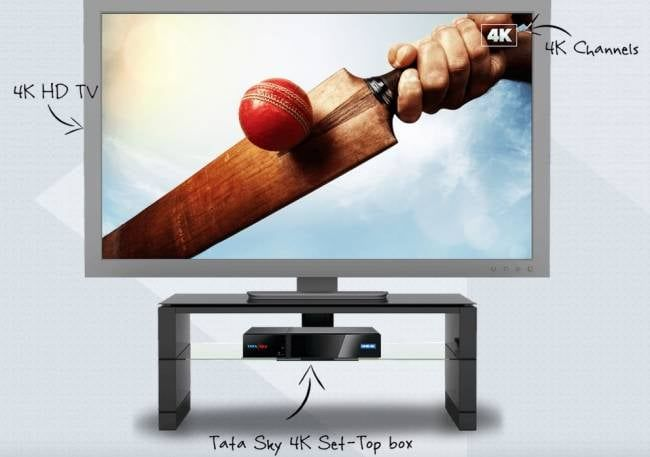 Videocon D2H 4K Ultra HD and Tata Sky 4K Set Top Box Launched