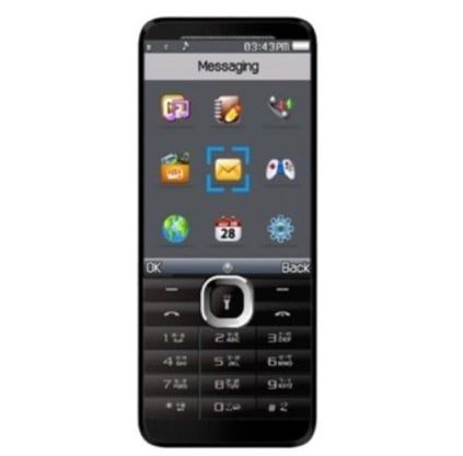 Micromax Flash X910 - Large 2.8-inch Feature Phone, 4000 mAh Battery, Use as Powerbank