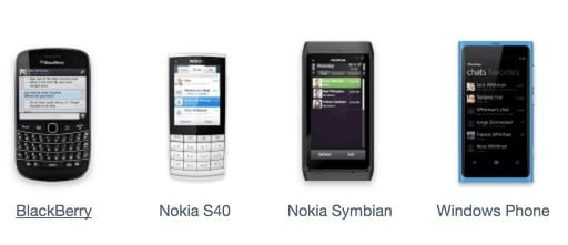 WhatsApp Support Ends in 2016 For BlackBerry, Nokia S40