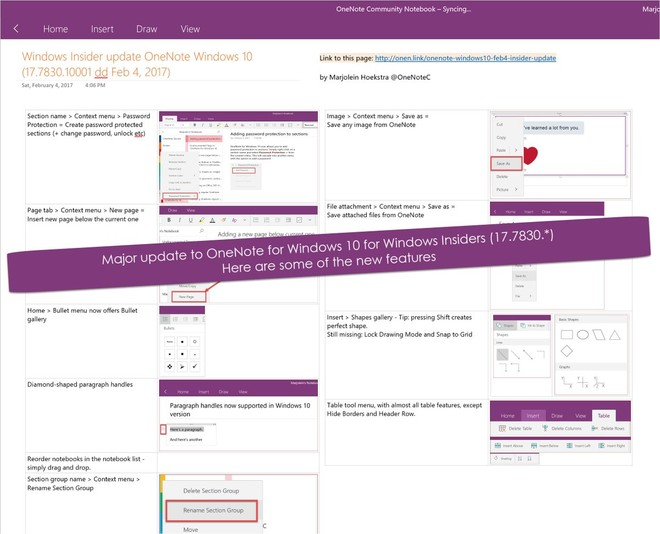 OneNote UWP app updated with new password protection and more for