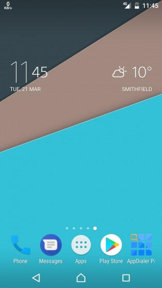 Enjoy the new Clock and Weather widget in the latest Xperia