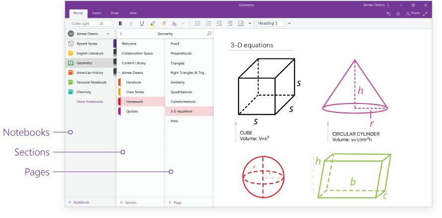 OneNote gets a new interface to offer cohesive user experience across all screens