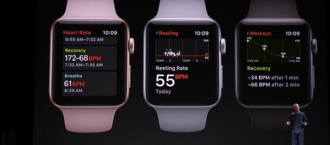 Apple Watch Series 3 with built-in cellular and watchOS 4 ...