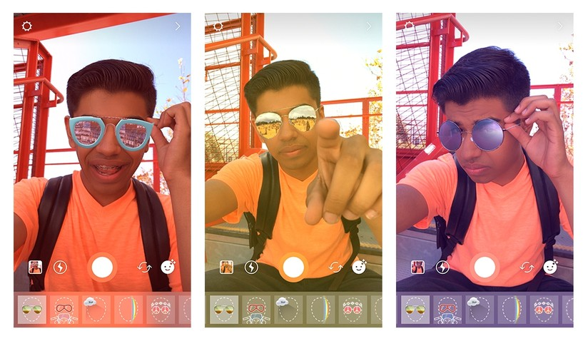 New Face Filter on Instagram Stories transports you to