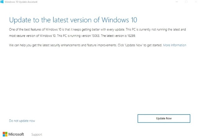 Here is how to download Windows 10 Fall Creators Update