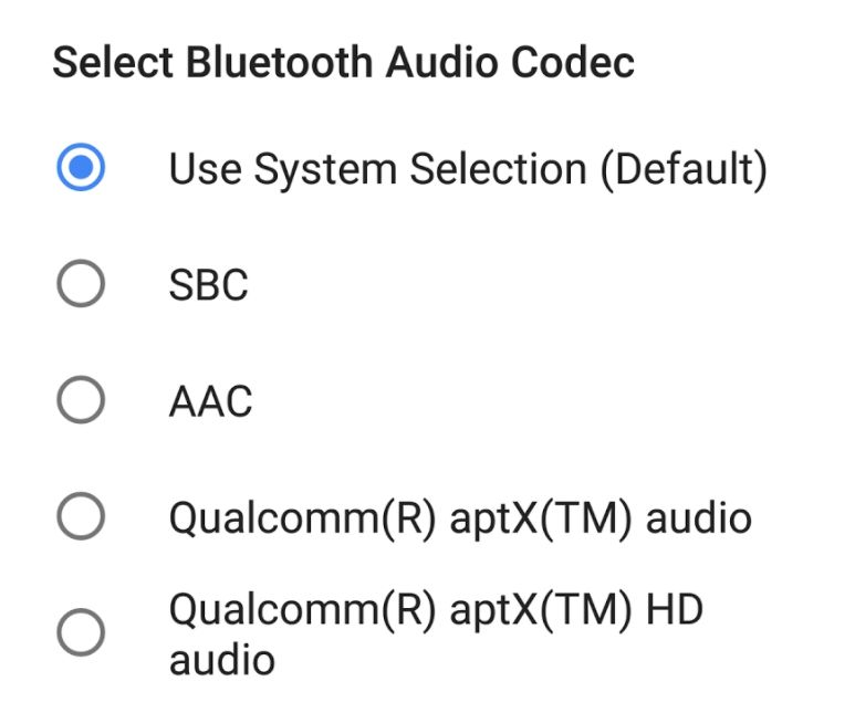 Google to add AAC Bluetooth Audio Codec for All Devices in AOSP