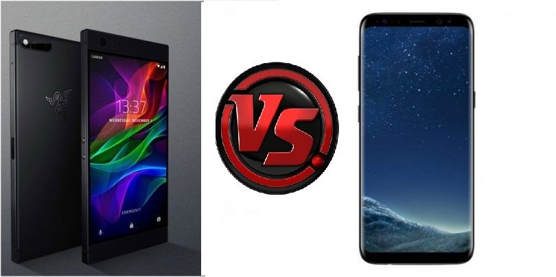 Razer Phone vs Samsung Galaxy S8 : Two all-rounders scuffle to impress you!