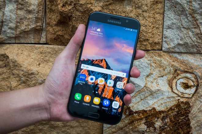 Samsung Galaxy A5 (2017) with Android Pie makes Geekbench visit