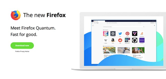 Mozilla's latest Firefox Quantum browser is out, twice as fast as