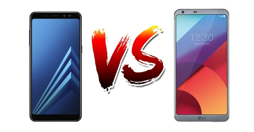 Samsung Galaxy A8  vs LG G6: How are they different