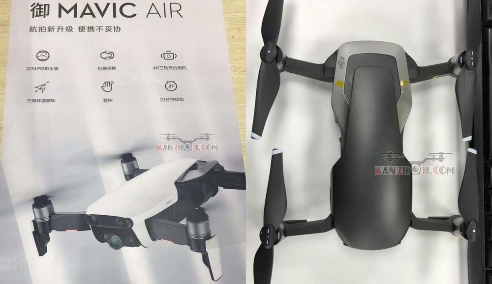 DJI Mavic Air drone to get 60fps 4K video support | Report