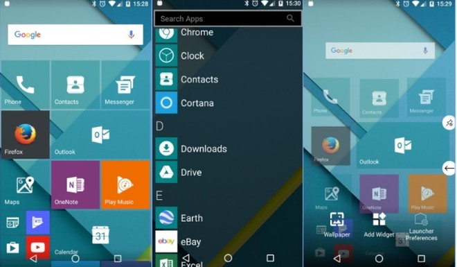 Launcher 10 Makes Your Android Device Look Like Windows Phone