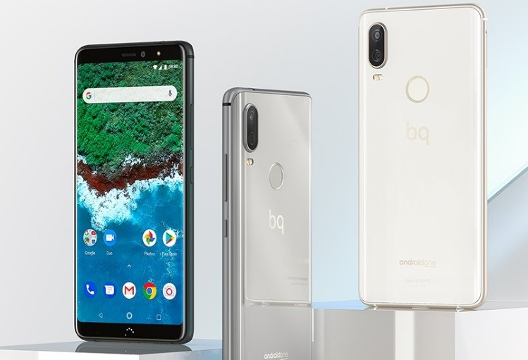 BQ Aquaris X2 and X2 Pro are Android One devices with 18:9