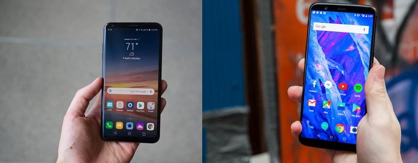 LG V35 ThinQ vs OnePlus 6: How they differ? - Mobilescout com