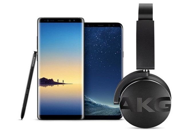 18486575cc3 Buy Samsung Galaxy S9, S8, Note 8 and get free AKG headphones ...