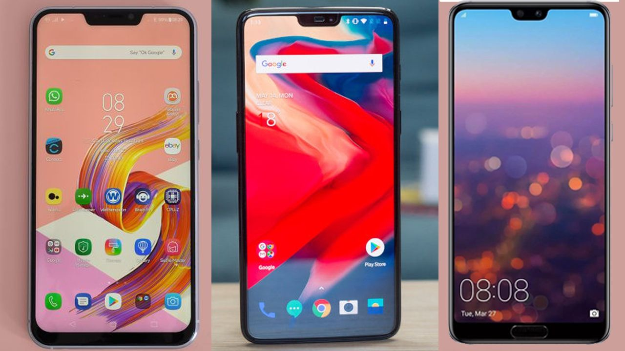 ASUS Zenfone 5Z vs OnePlus 6 vs Huawei P20 Pro - Battle of the flagships
